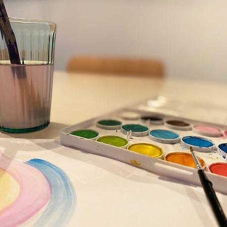 Leonie Meijer van Studio Werkblik met creatief werken