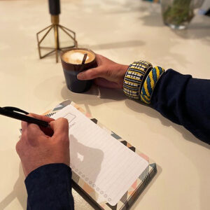 Leonie Meijer van Studio Werkblik notities en aantekeningen