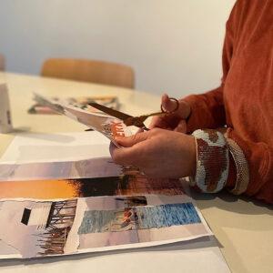 Leonie Meijer van Studio Werkblik creatief werken
